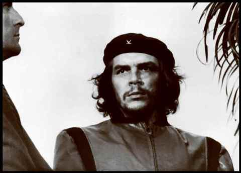 Alberto Korda, Guerrillero Heroico - Che Guevara at the funeral for the victims of the La Coubre explosion, March 5, 1960