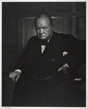 Yousuf Karsh. Sir Winston Churchill, 1941