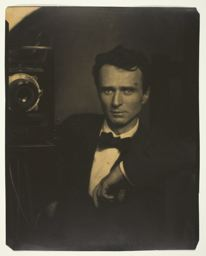 Edward Steichen. Self-Portrait with Camera, c. 1917
