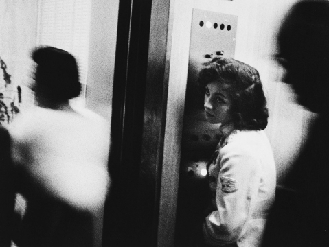 Sharon Collins is the elevator girl of Robert Frank's famous image from The Americans.